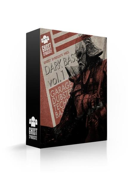 Dark Bass Vol.2, Deep Dubstep, Beats, Techno, Grime, House, Ghost Syndicate, Sample Pack, Samples, 24bit WAV