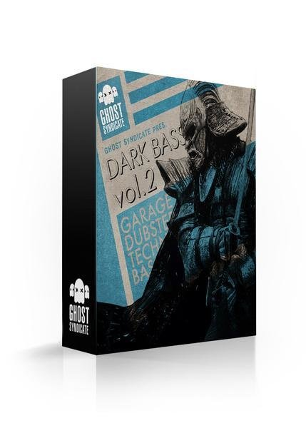 Dark Bass Vol.1, Grime, Deep Dubstep, Techno, House, Bass, Grime, Ghost Syndicate, Sample Pack, Samples, 24bit WAV