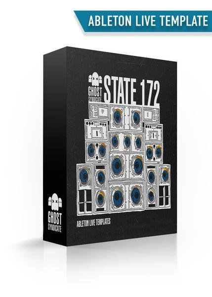 State 172, Drum & Bass, Ableton Live Template, Ghost Syndicate, Sample Pack, Samples, 24bit WAV