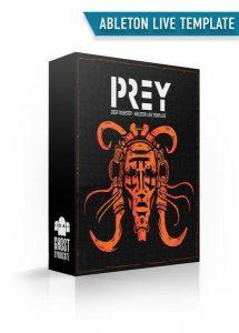 Prey, Ableton Live Template, Deep Dubstep, Ghost Syndicate, Sample Pack, Samples, 24bit WAV