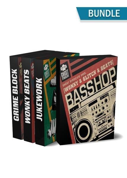 Urban Beats Bundle, Ghost Syndicate, Sample Pack, Samples, 24bit WAV, Hip Hop, Trap, Juke, Footwork, Grime, Urban Music, Rnb, Basshop, Jukework, Wonky Beats, Grime Block