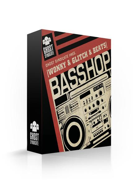 Basshop, Hip Hop, Beats, Future Beats, Ghost Syndicate, Sample Pack, Samples, 24bit WAV