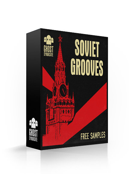Soviet Grooves, Free Samples, Free Sample Pack, Funk, Jazz, Ghost Syndicate, Sample Pack, Samples, 24bit WAV