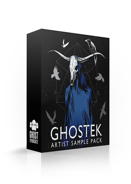 Ghostek Artist Sample Pack, Ghost Syndicate, 24 bit WAV Loops & One Shots